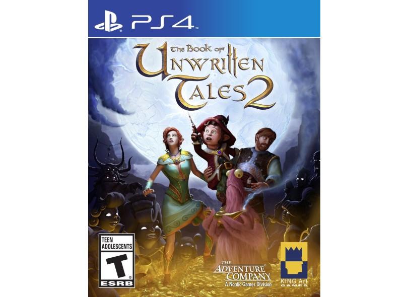 Jogo The Book of UnwritteTales 2 PS4 The Adventura Company