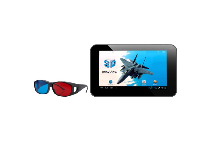 """Tablet DL Smart 7"""" 3D 8 GB Wi-Fi Android 4.0 (Ice Cream Sandwich) TG-M71"""