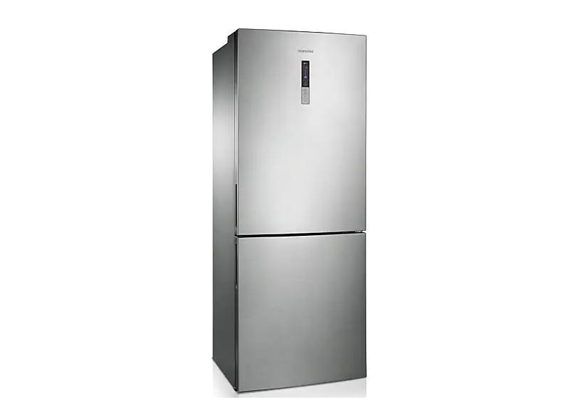 Geladeira Samsung Bottom Freezer Frost Free Inverse 435 l Inox Barosa RL4353RBASL/AZ