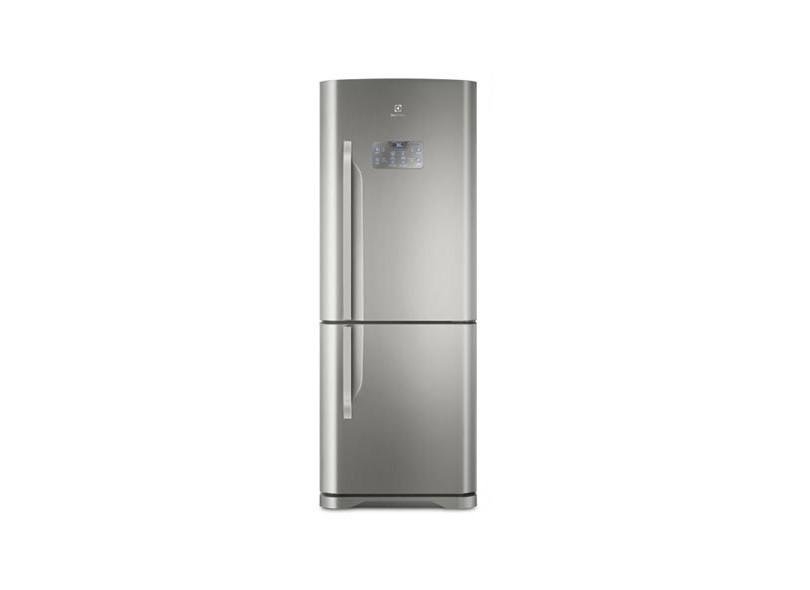 Geladeira Electrolux Bottom Freezer Frost Free Inverse 454 l Inox DB53X