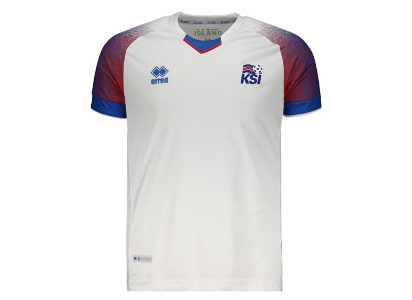Camisa Torcedor Islândia II 2018/19 Errea