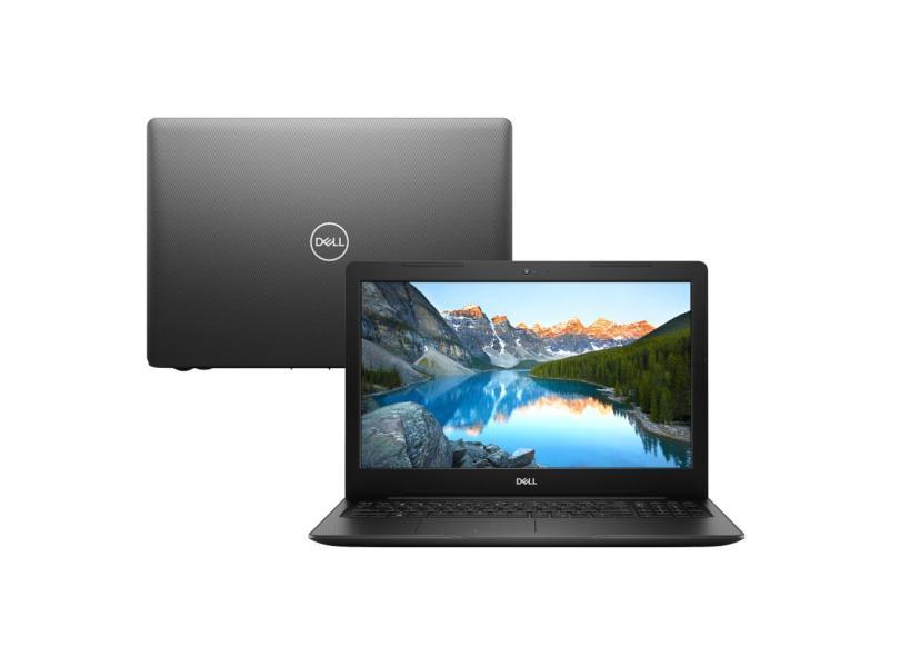 "Notebook Dell Inspiron 3000 Intel Core i5 8265U 8ª Geração 8 GB de RAM 1024 GB 15.6 "" Linux I15-3583-D3"