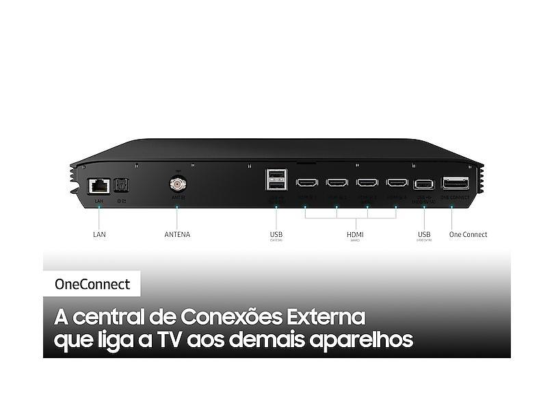 "Smart TV TV QLED 65 "" Samsung 8K HDR 65QN800A 4 HDMI"