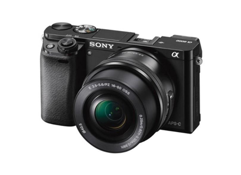 Câmera Digital Semiprofissional Sony Alpha 24,3 MP Full HD ILCE-6000
