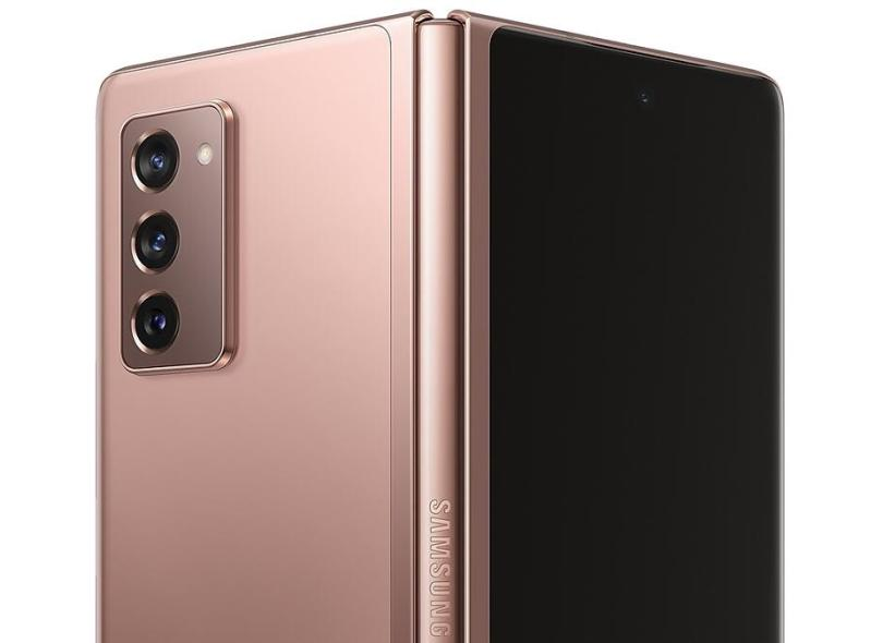 Smartphone Samsung Galaxy Z Fold2 SM-F916B 256GB Câmera Tripla 2 Chips Android 10