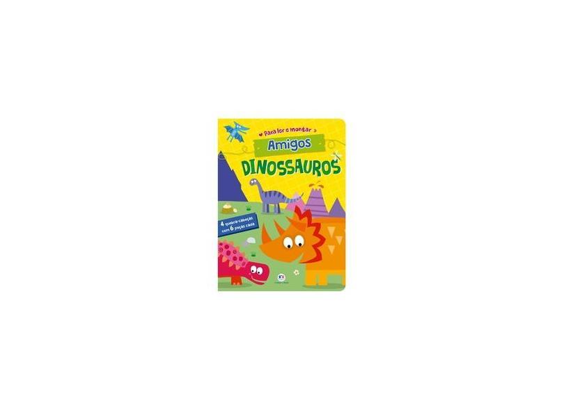 Amigos dinossauros - Ciranda Cultural - 9788538080794