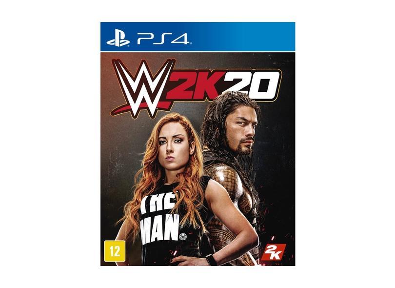 Jogo WWE 2K20 PS4 2K