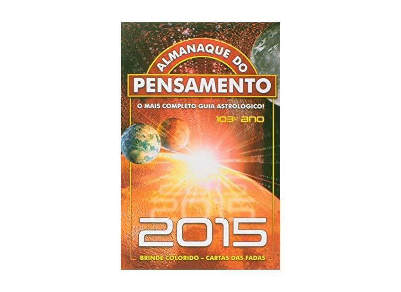 Almanaque do Pensamento 2015 - Pensamento,  Editora - 9771981932154