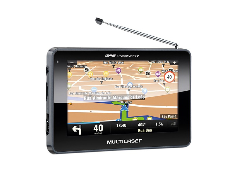 "GPS Automotivo Multilaser Gps Tracker III GP034 4.3 """