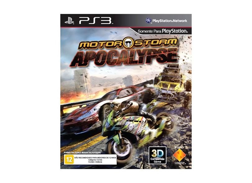 Jogo Motor Storm: Apocalypse Sony PS3