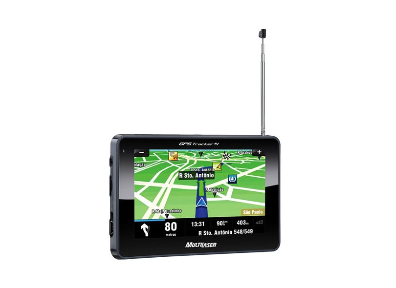 "GPS Automotivo Multilaser 4.3"" Touchscreen GP013"