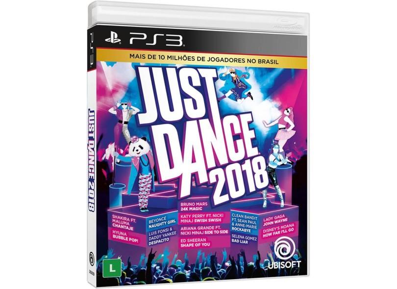 Jogo Just Dance 2018 PlayStation 3 Ubisoft