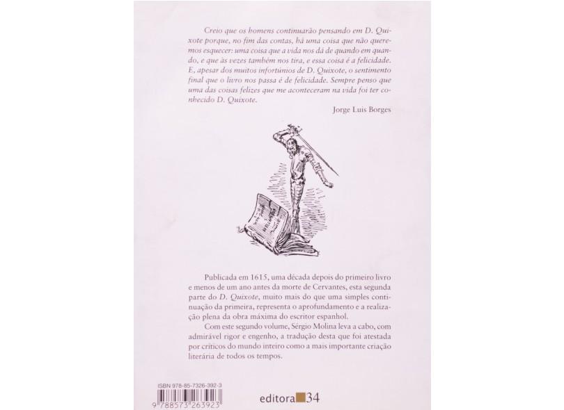 O Engenhoso Cavaleiro D. Quixote de La Mancha - Segundo Livro - Cervantes Saavedra, Miguel De - 9788573263923