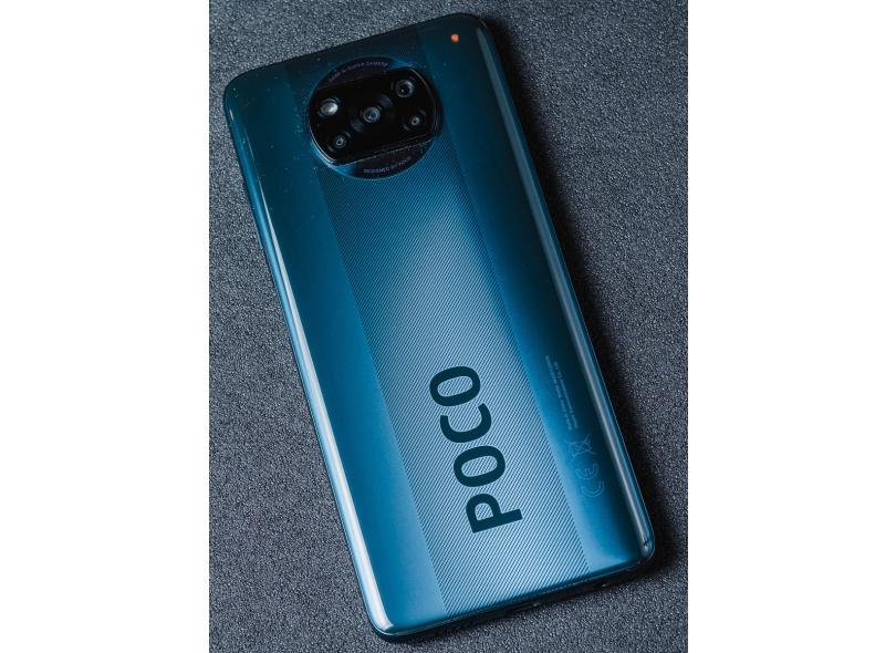 Smartphone Xiaomi Pocophone Poco X3 NFC 6 GB 64GB Câmera Quádrupla Qualcomm Snapdragon 732G 2 Chips Android 10