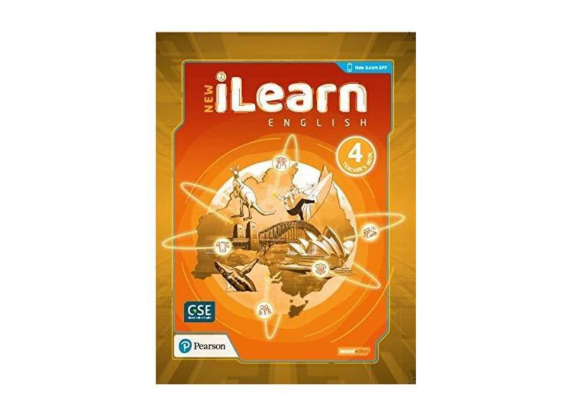 New ilearn - Level 4- Teacher Book - Pearson - 9788543026053