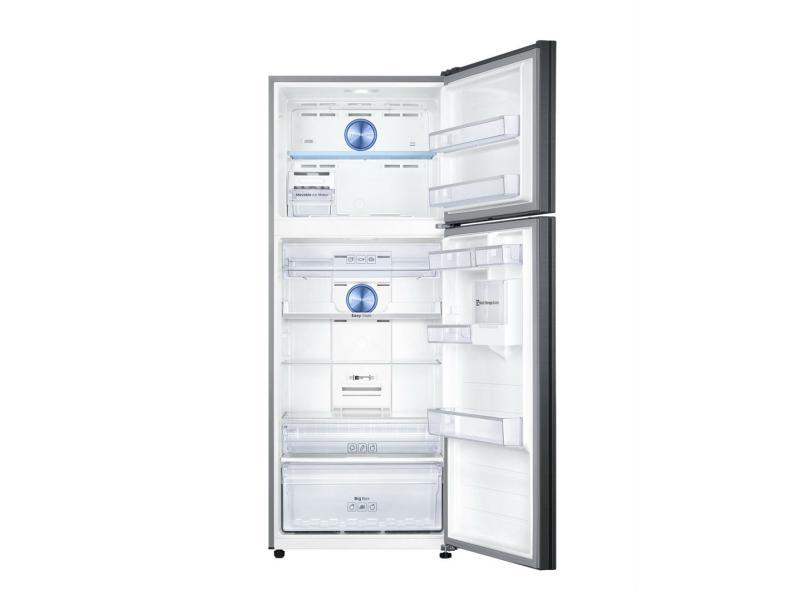 Geladeira Samsung Top Mount Freezer Frost Free Duplex 453 l Inox Black Edition RT6000K RT46K6261BS