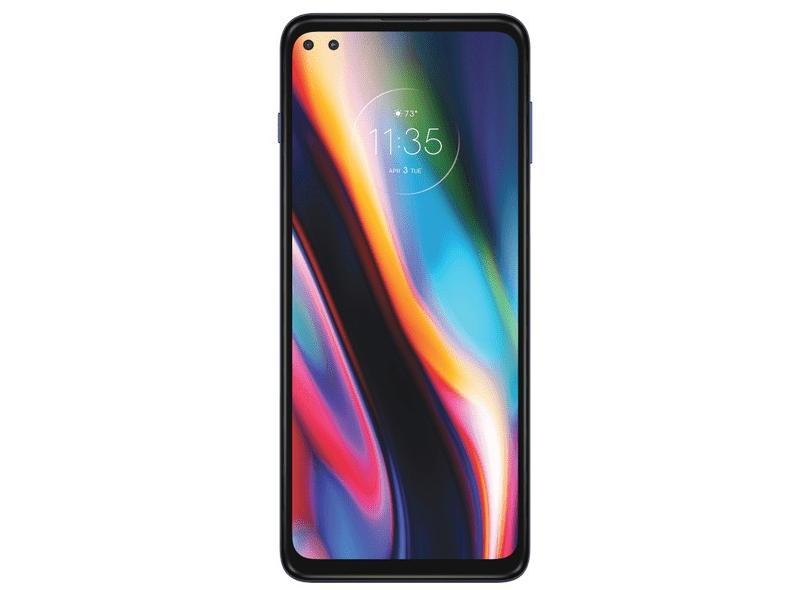 Smartphone Motorola Moto G 5G Plus 128GB Câmera Dupla Câmera Quádrupla Android 10
