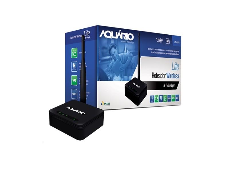 Roteador Wireless 150 Mbps APR-2408 - Aquário