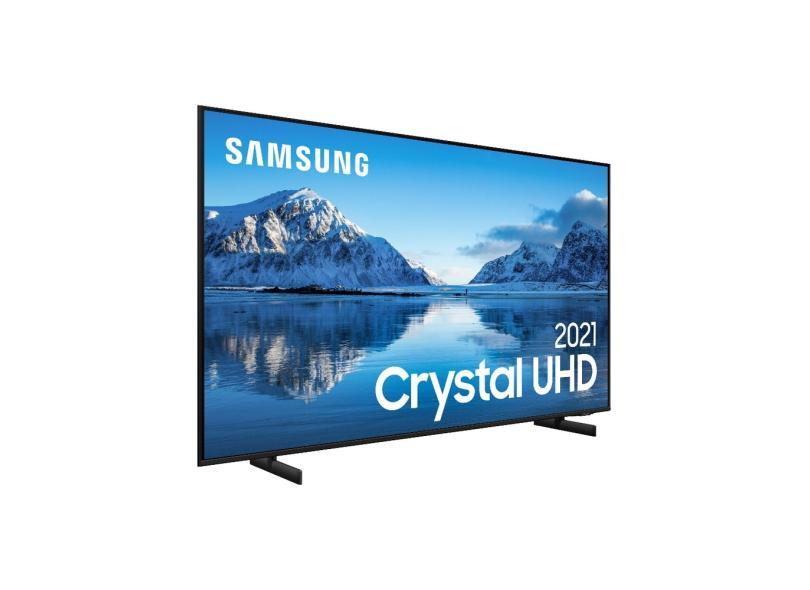 """Smart TV TV LED 60 """" Samsung Crystal 4K HDR 60AU8000 3 HDMI"""