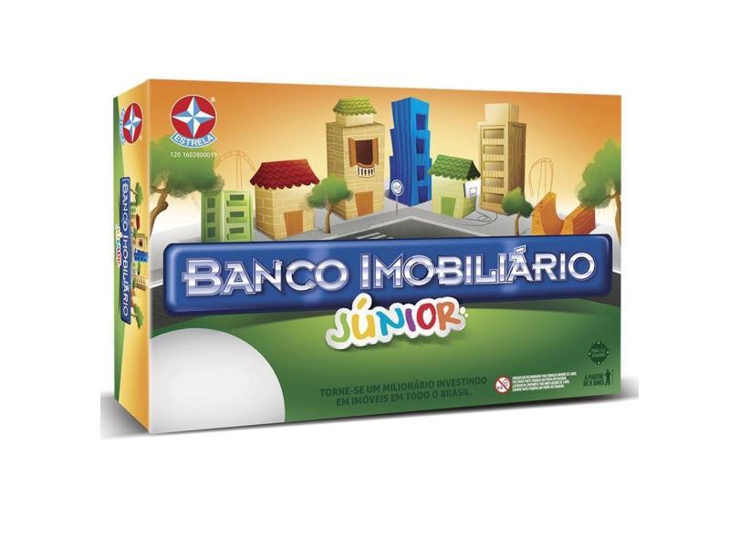 Jogo Banco Imobiliário Junior Estrela