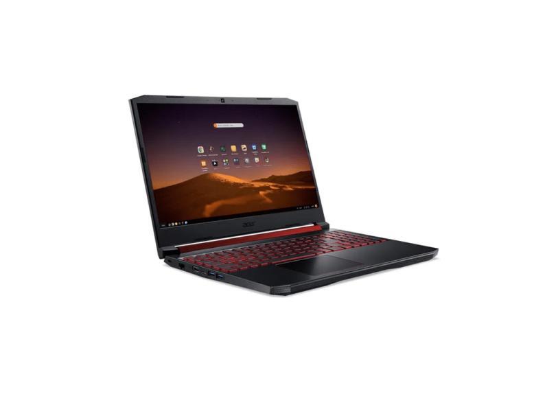 """Notebook Gamer Acer Aspire Nitro 5 Intel Core i5 9300H 9ª Geração 8 GB de RAM 512.0 GB 17.3 """" Full GeForce GTX 1650 Linux AN517-51-50JS"""