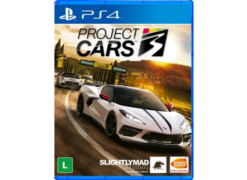 Jogo Project Cars 3 PS4 Bandai Namco