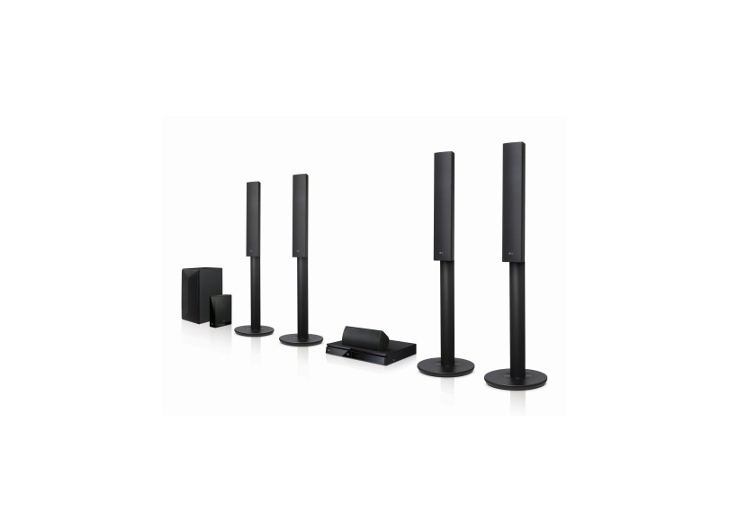 Home Theater LG com Blu-Ray 3D 1000 W 5.1 Canais LHB655