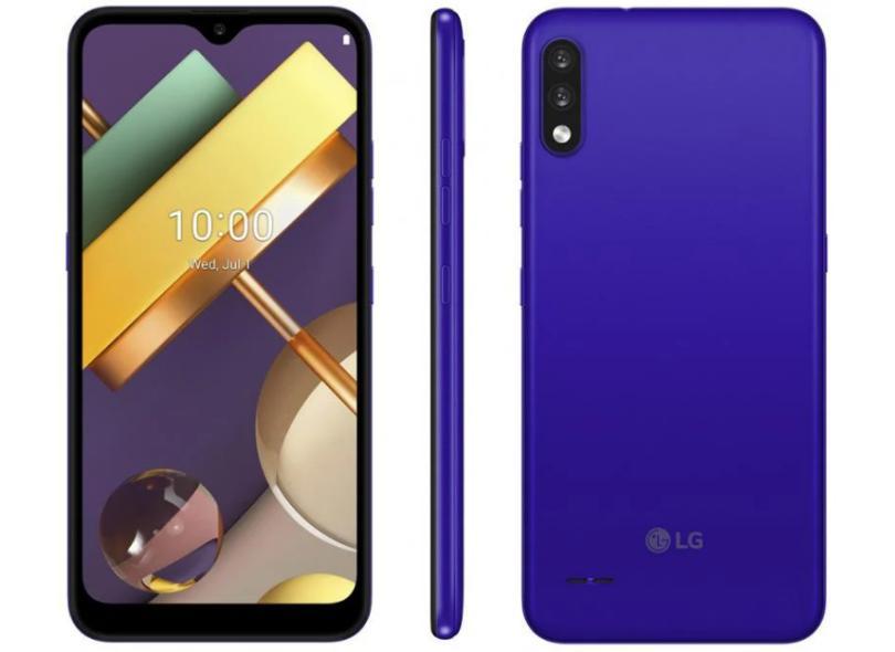Smartphone LG K22 LMK200BMW 32GB Câmera Dupla Qualcomm QM215 2 Chips Android 10