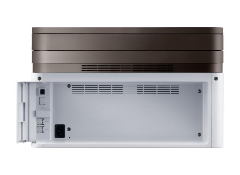 Multifuncional Samsung Xpress SL-M2070W Laser Preto e Branco Sem Fio