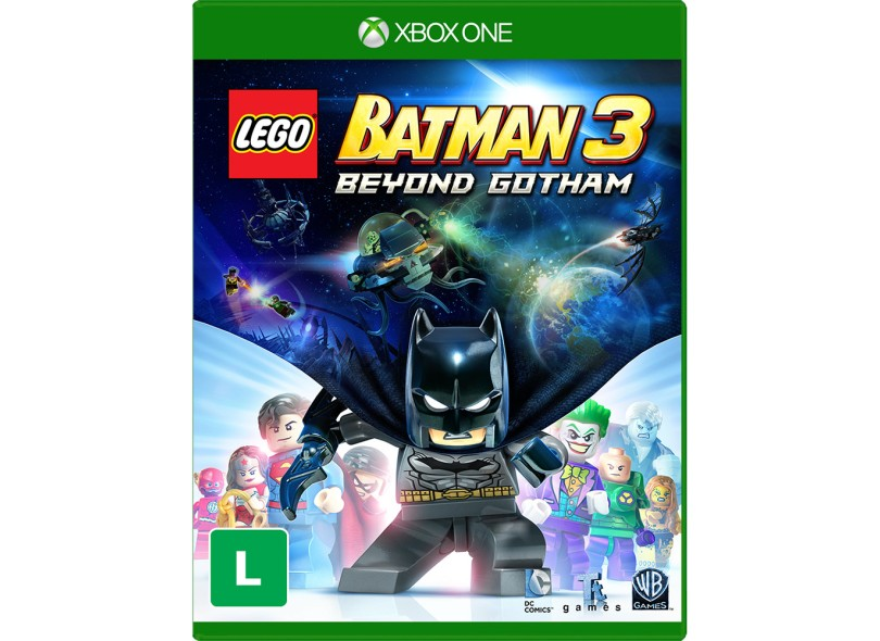 Jogo Lego Batman 3: Beyond Gotham  Xbox One Warner Bros