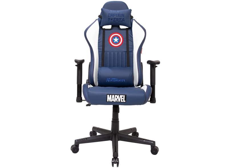 Cadeira Gamer Reclinável Marvel Capitão América EagleX