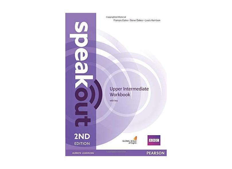Speakout: Upper intermediate workbook with key (british English) - Frances Eales - 9781447977186