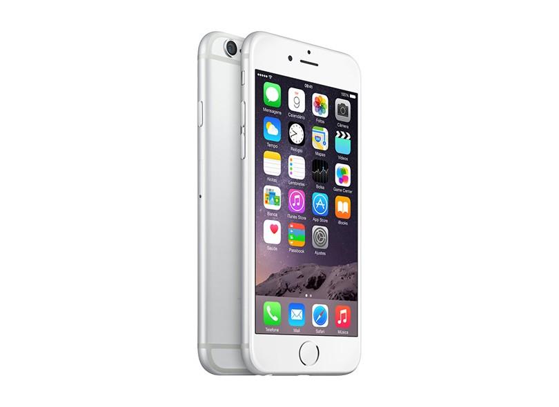 Novo Smartphone Apple iPhone 6 64GB Câmera 8,0 MP iOS 8 3G 4G Wi-Fi