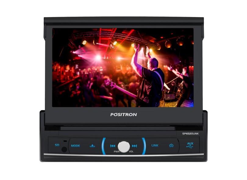 DVD Player Automotivo Pósitron SP6520 LINK