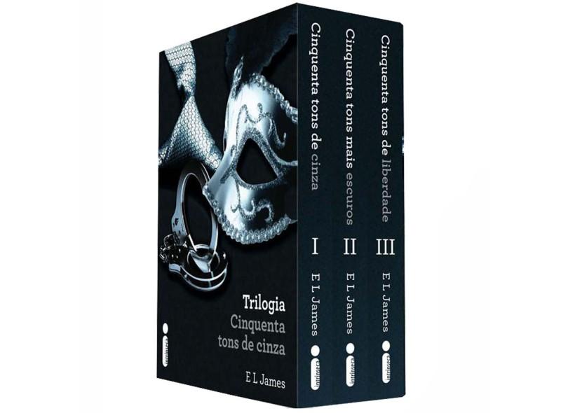 Box da Trilogia Cinquenta Tons de Cinza - James, E L - 9788580572797