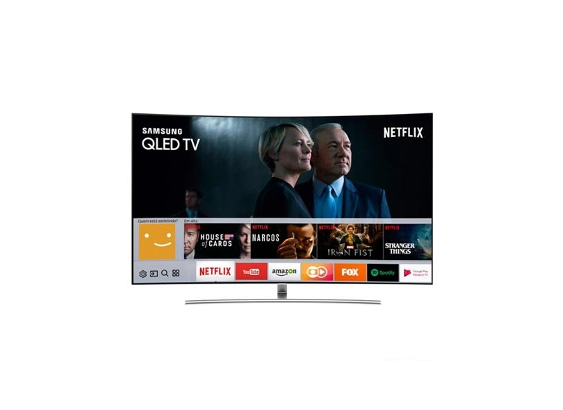 "Smart TV TV QLED 75"" Samsung Q8C 4K QN75Q8CAMG"