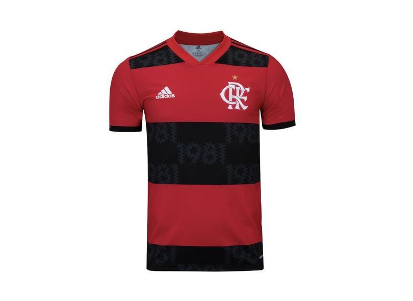Camisa Jogo Flamengo I 2021/22 Adidas