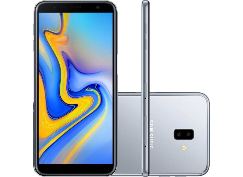 Smartphone Samsung Galaxy J6 Plus SM-J610G 32GB Qualcomm Snapdragon 425 13,0 MP 2 Chips Android 8.0 (Oreo) 3G 4G Wi-Fi