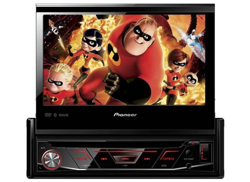 "DVD Player Automotivo Pioneer 7 "" AVH-3180BT"