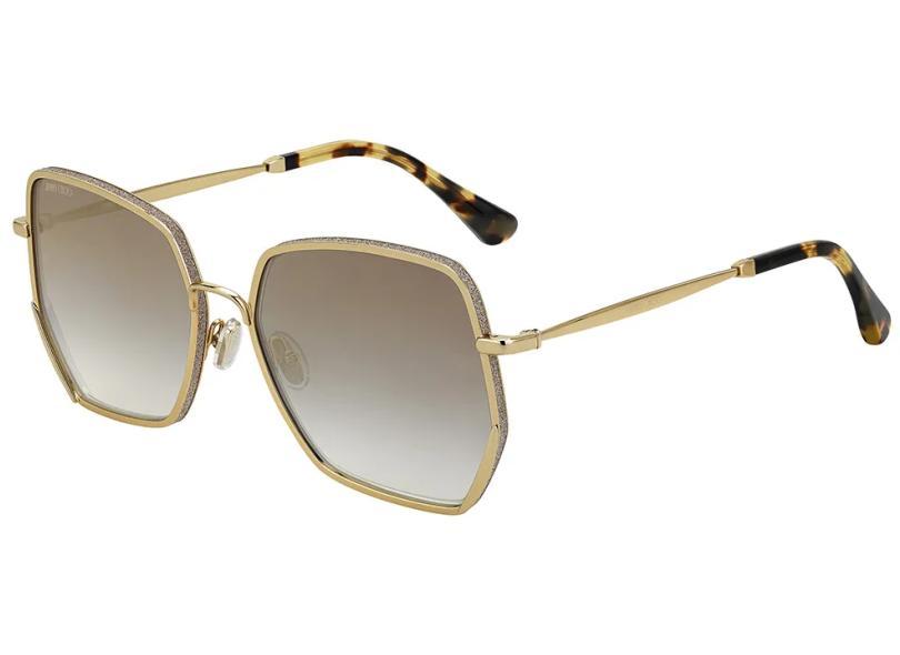 Óculos de Sol Feminino Quadrado Jimmy Choo Aline