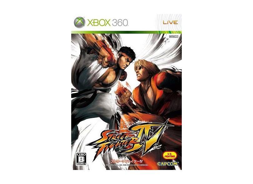 Jogo Street Fighter IV Capcom Xbox 360