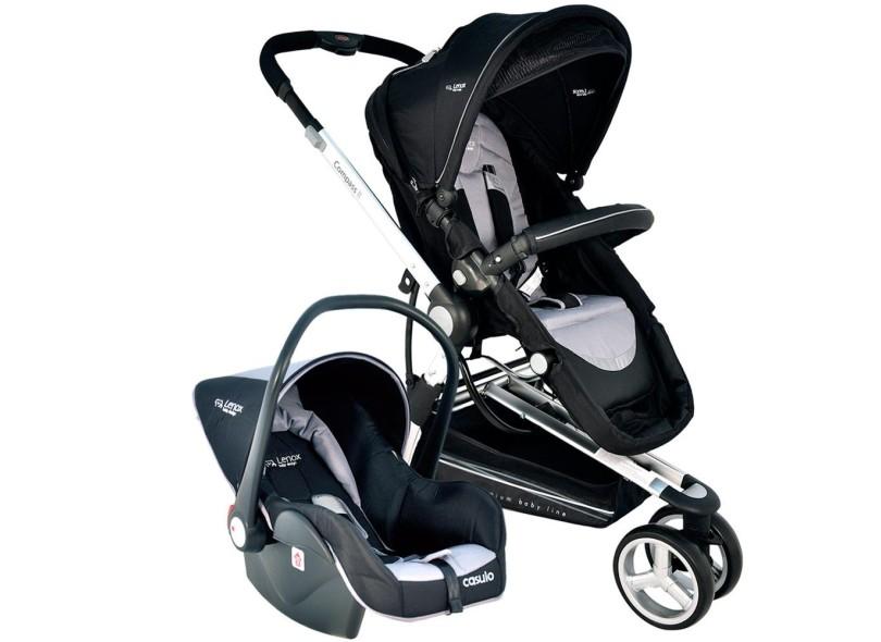 Carrinho de Bebê Travel System com Bebê Conforto Lenox Compass II 889