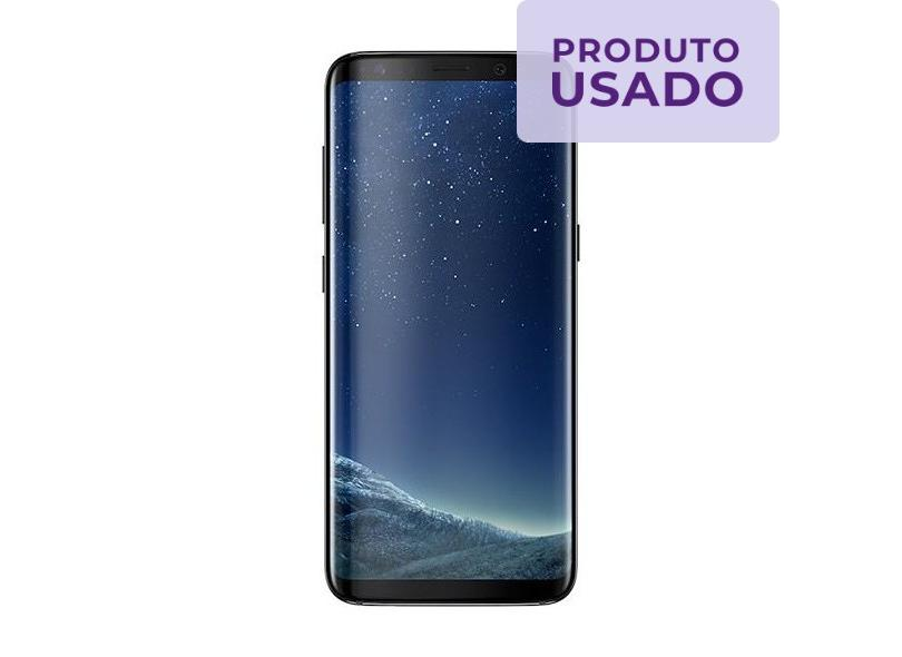 Smartphone Samsung Galaxy S8 Plus Usado 64GB 12.0 MP 2 Chips Android 7.0 (Nougat) 4G Wi-Fi