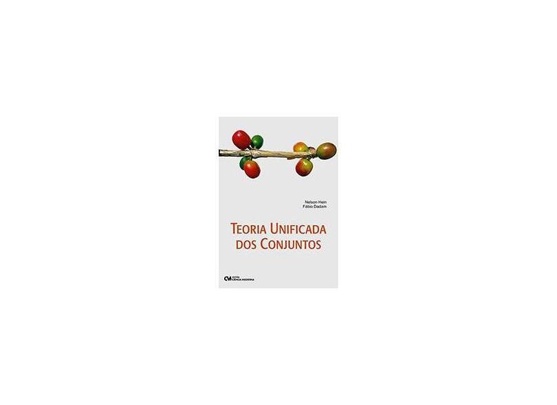 Teoria Unificada dos Conjuntos - Dadam, Fabio - 9788573938760