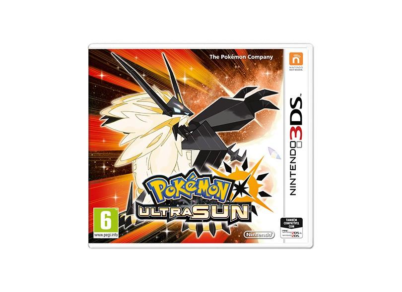 Jogo Ultra Sun The Pokémon Company Nintendo 3DS