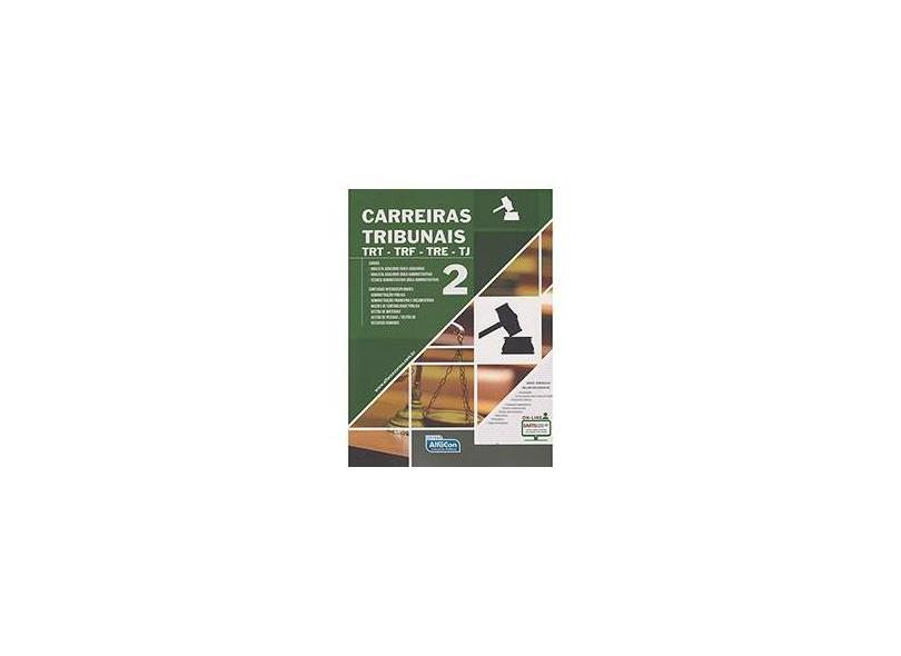 Apostila Carreiras Tribunais - TRT - Trf - Tre - Tj - Vol. 2 - Equipe Alfacon - 9788583392491