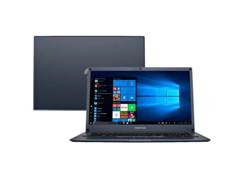 "Notebook Positivo Motion Intel Core i3 4 GB de RAM 1024 GB 14 "" Windows 10 I341TB"
