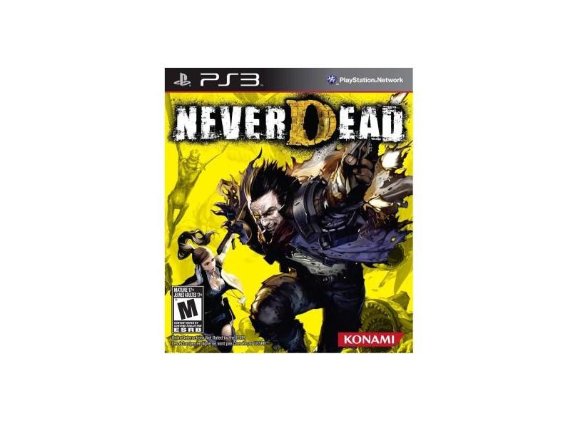Jogo Neverdead Konami Playstation 3