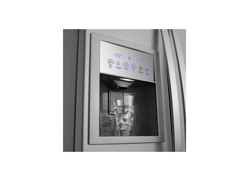 Geladeira Electrolux 504 Litros Side by Side SS76X Inox