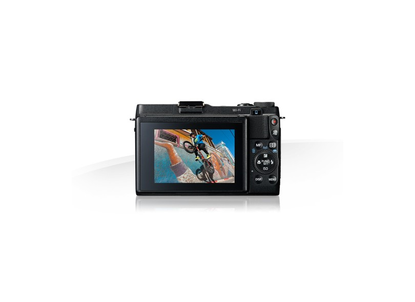 Câmera Digital Canon PowerShot 12.8 MP Full HD G1X Mark II